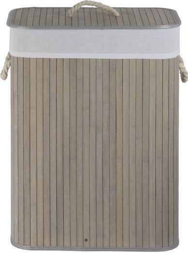 Bamboo basket gray 532 + lining
